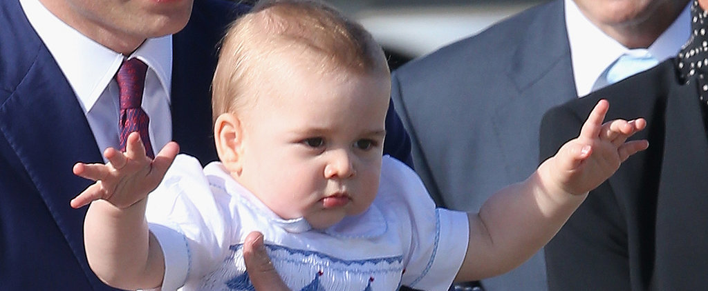 Prince George Is the King of Wiggles