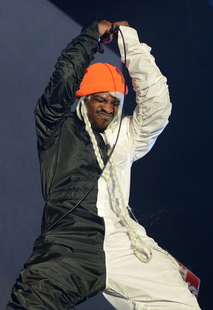 André 3000 put on a theatrical show.
