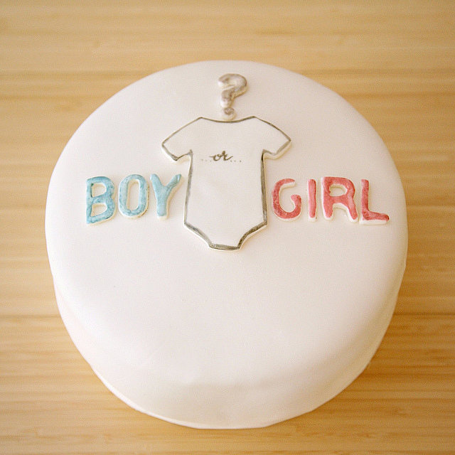 Cake Ideas For Baby Reveal Party : Gender Reveal Party Cakes POPSUGAR Moms