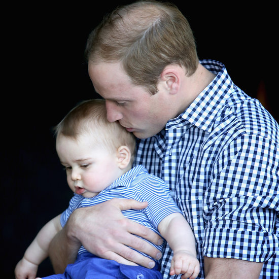 Cute Prince William and Prince George Pictures