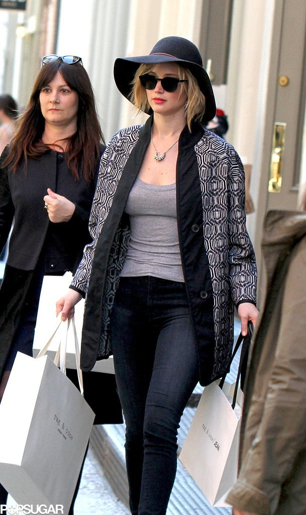 Everyone Relax, Jennifer Lawrence Is Back