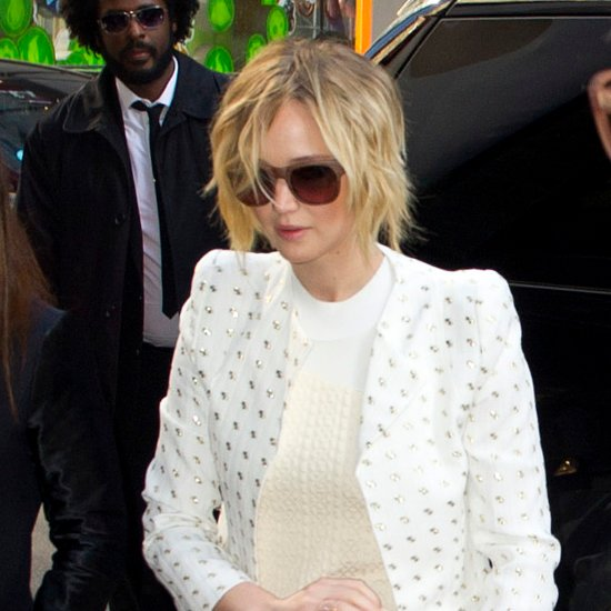 Jennifer Lawrence New Hair Bob Hairstyle