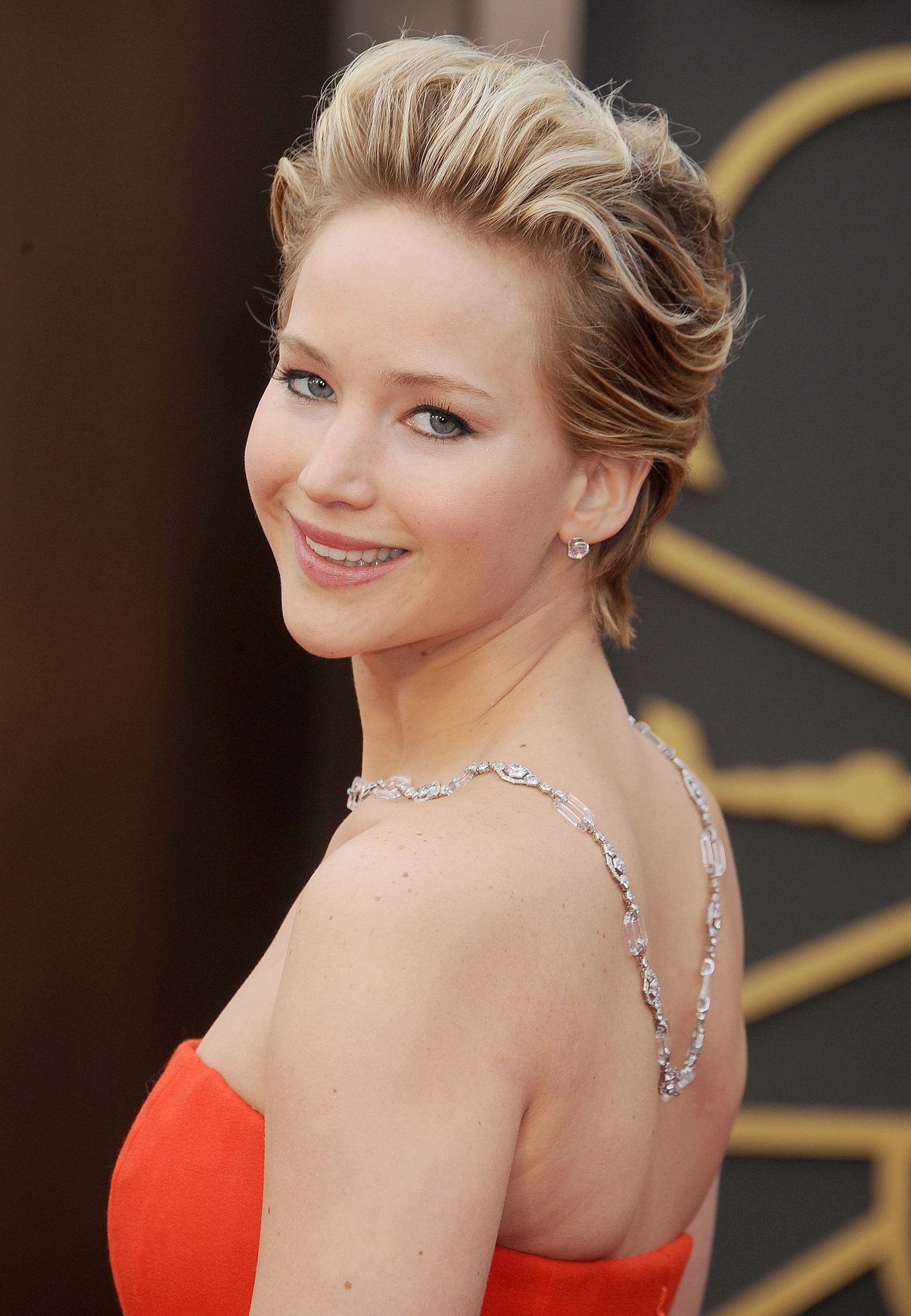 Jennifer Lawrence's Grown-Out Pixie