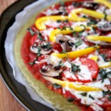 Quinoa Pizza Crust | Gluten-Free and Vegan