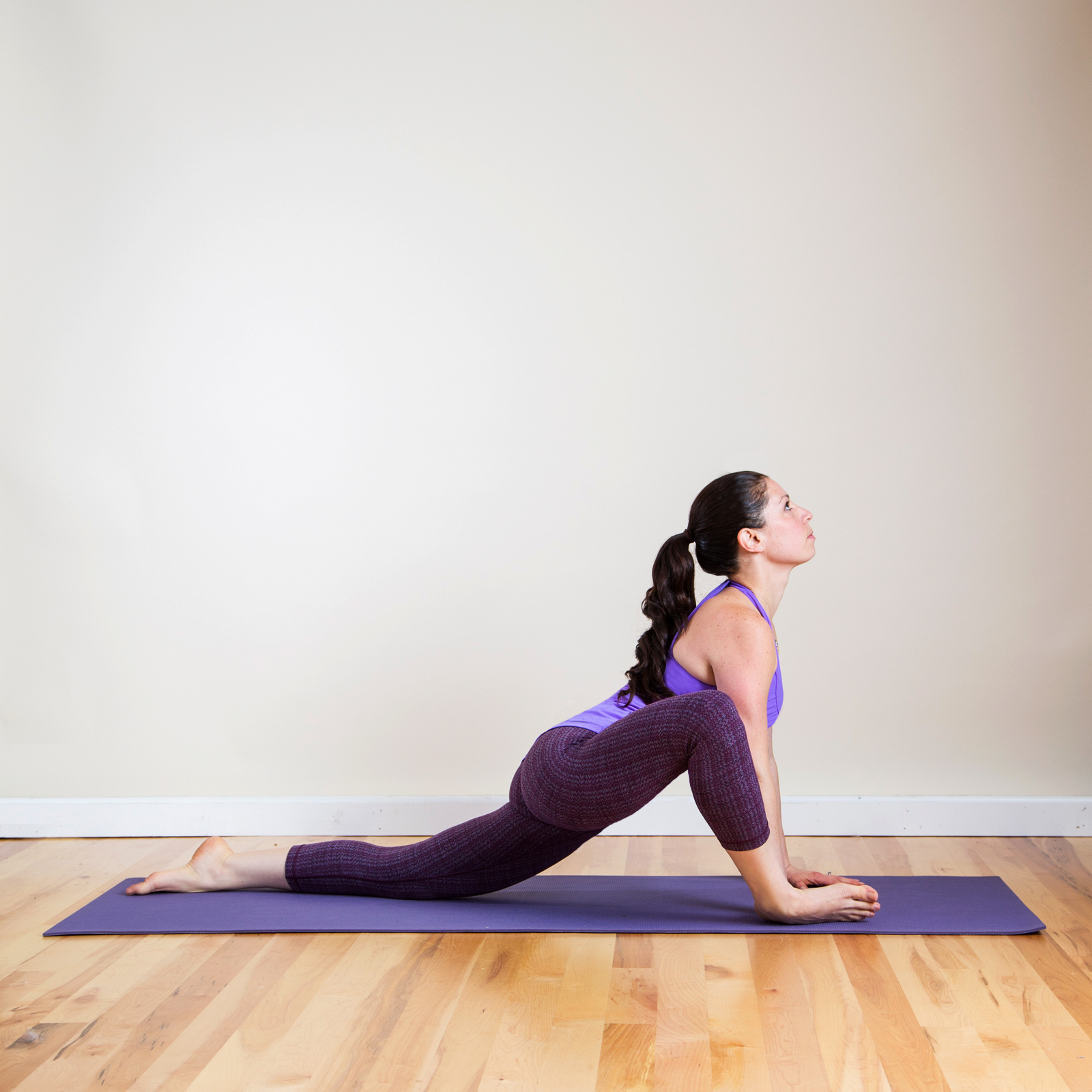 Yoga Pose 4: Open Lizard