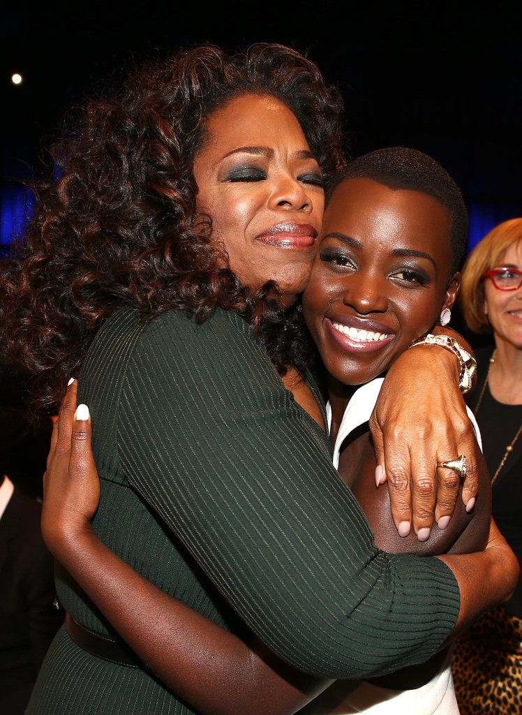 And Then Gave Her a Very Oprah-Esque Hug