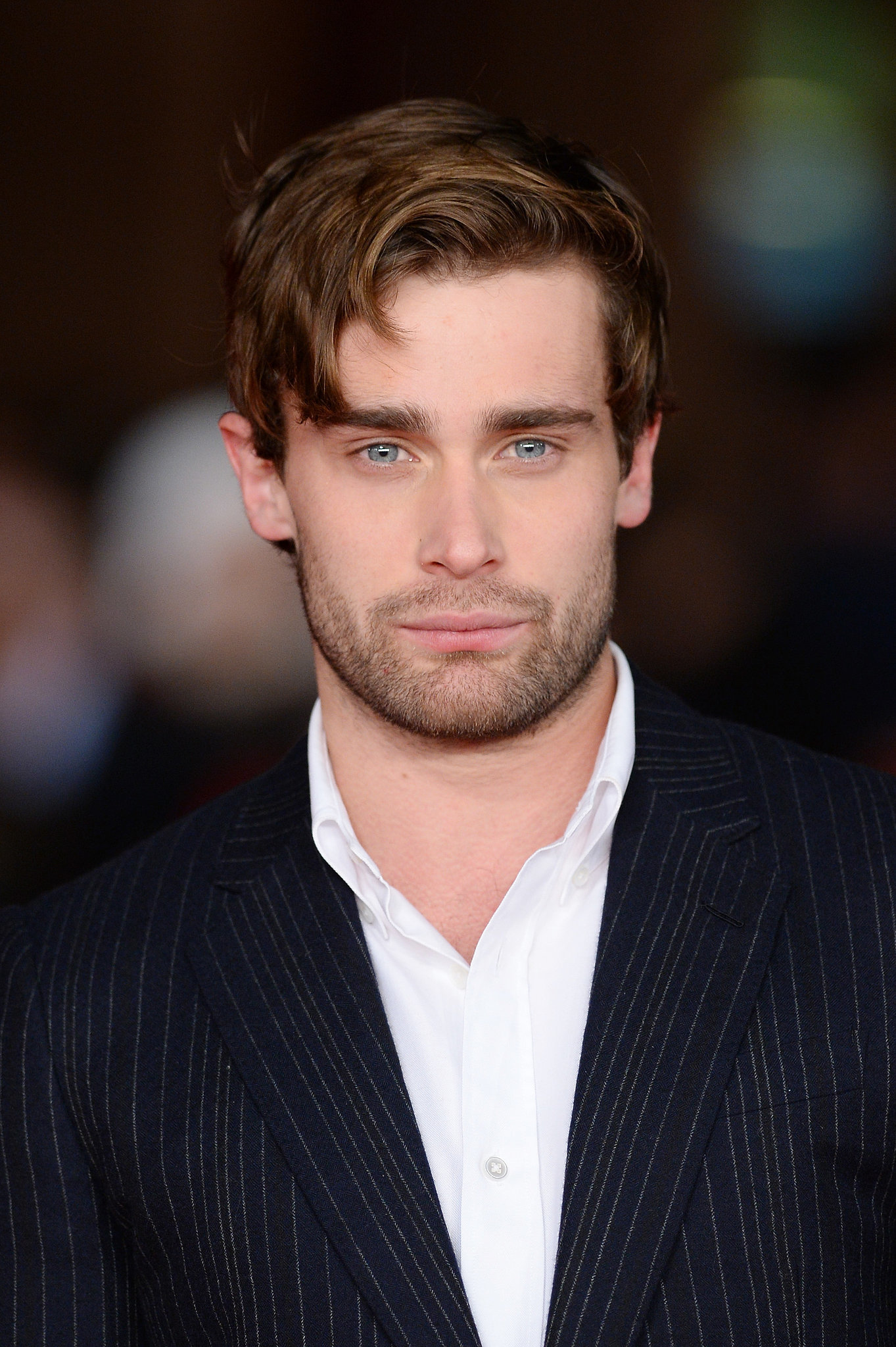 The 30-year old son of father (?) and mother(?), 177 cm tall Christian Cooke in 2017 photo