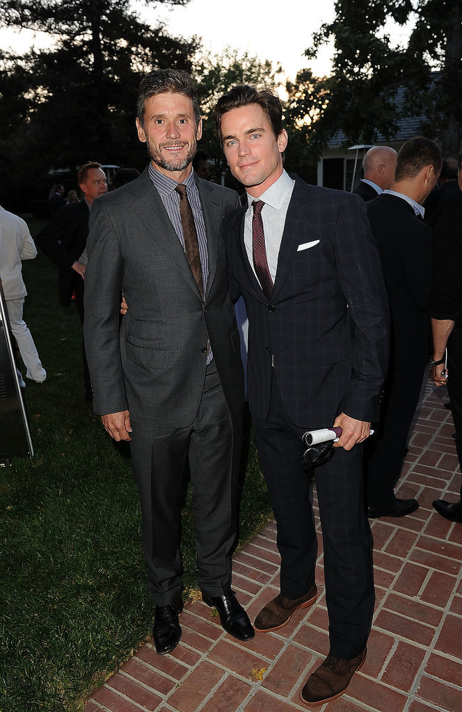 Matt Bomer and Simon Halls