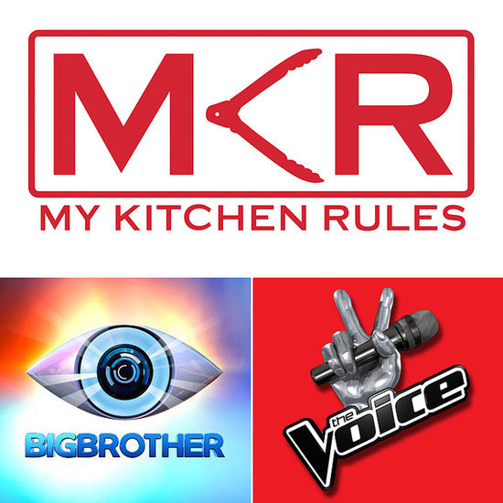 Australian Reality TV Poll My Kitchen Rules The Bachelor