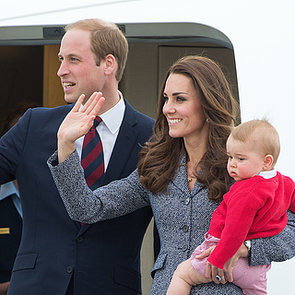 The Royals Depart From Australia
