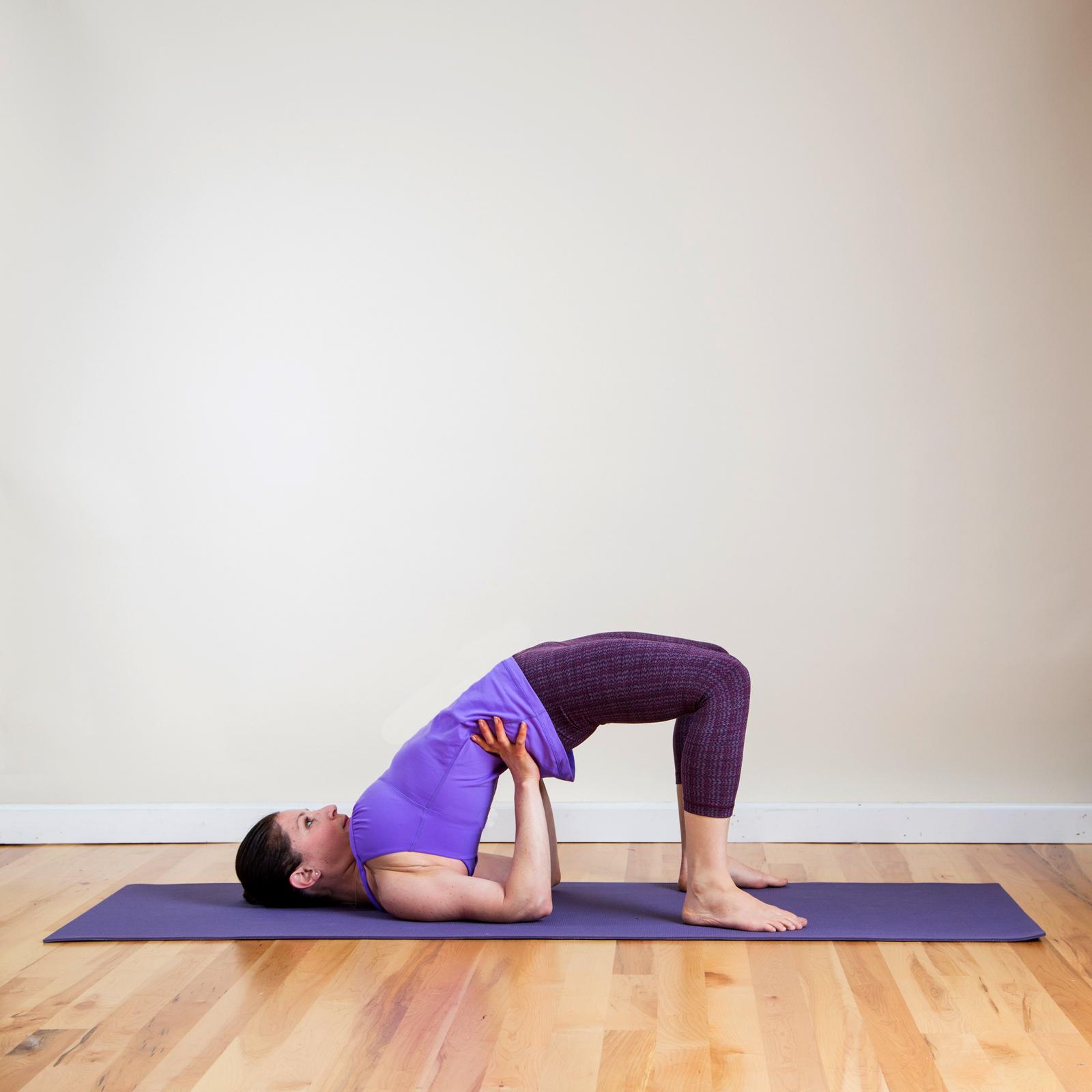 Yoga Pose 6: Half Wheel