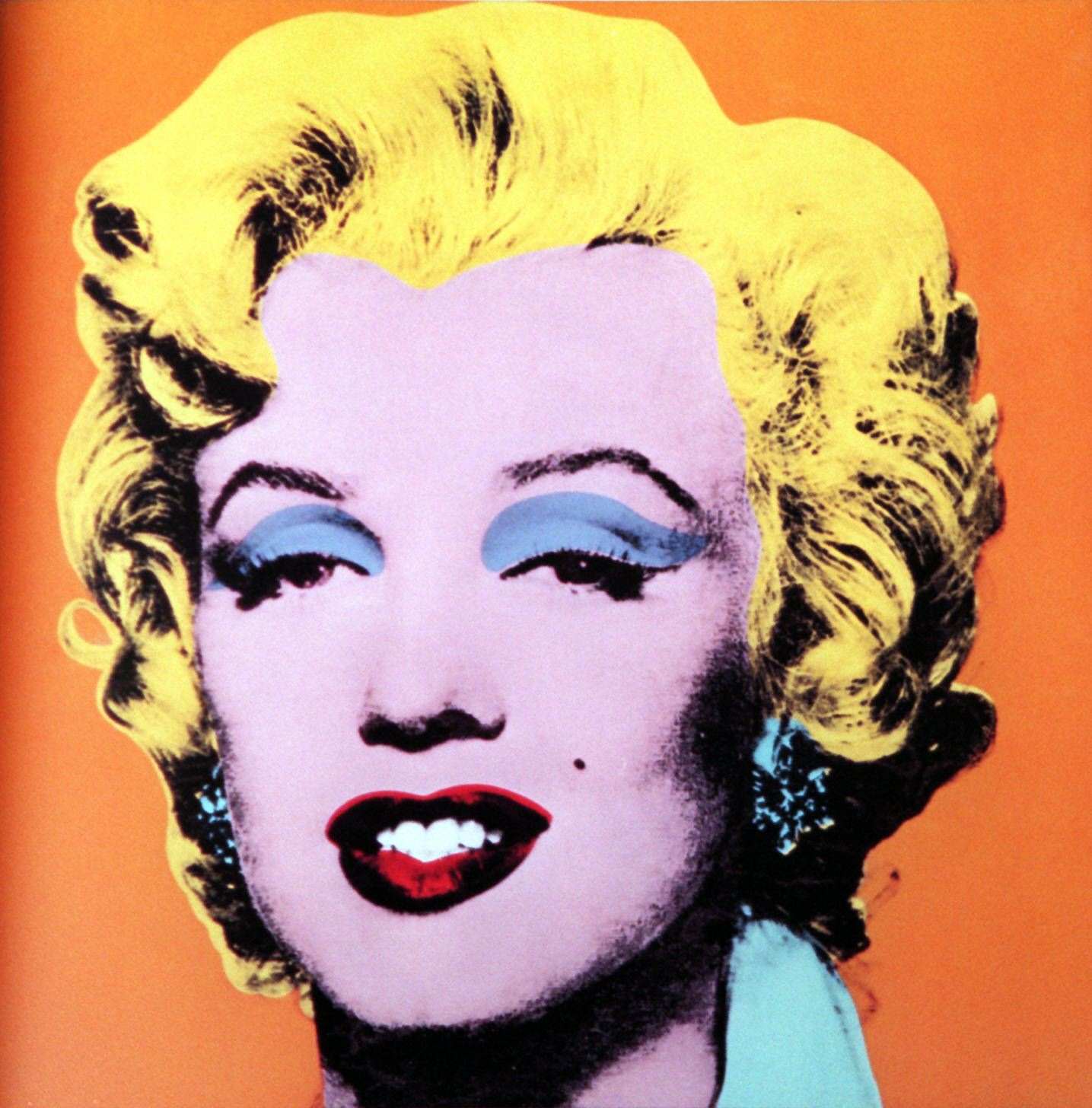 Andy's Most Iconic Works — Orange Marilyn, 1964