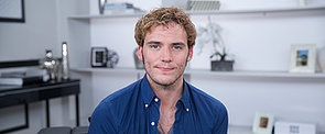 Would Sam Claflin Rather Sport a Bowlcut or Go Shirtless on Screen?