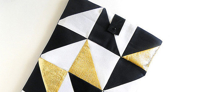 The Most Glamorous Laptop Sleeve DIY You've Ever Seen