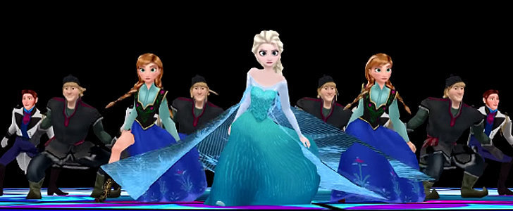 "You Haven't Lived Until You've Seen Frozen Characters Dancing to ""Thriller"""