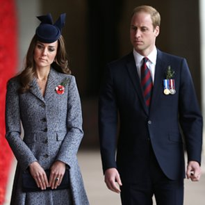 Prince William and Kate Middleton Celebrate Anzac Day
