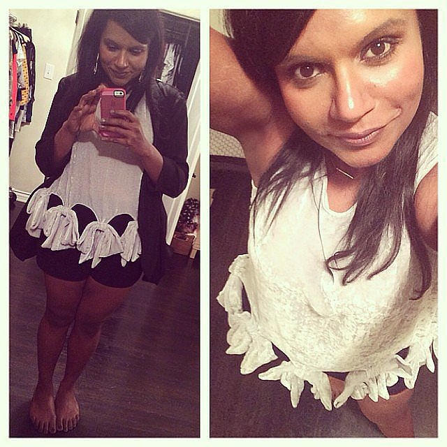 Mindy Is a Surprise Fashion Girl
