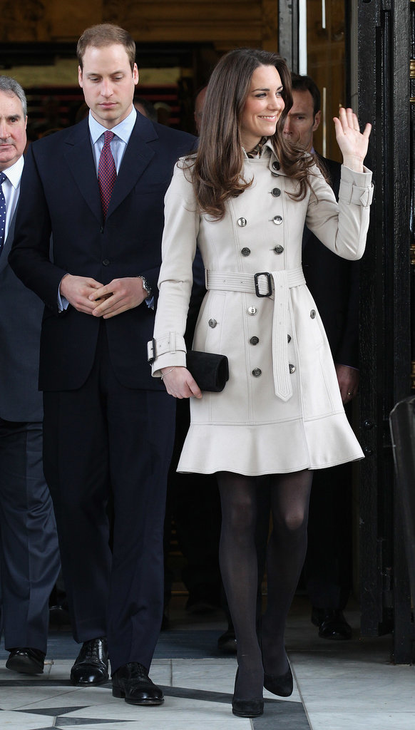 Kate Middleton at Ireland's City Hall in 2011