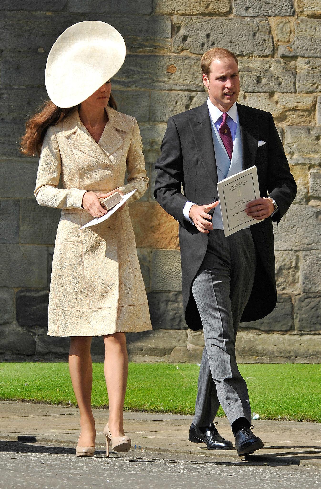 Kate Middleton at Zara Phillips's Wedding in 2011