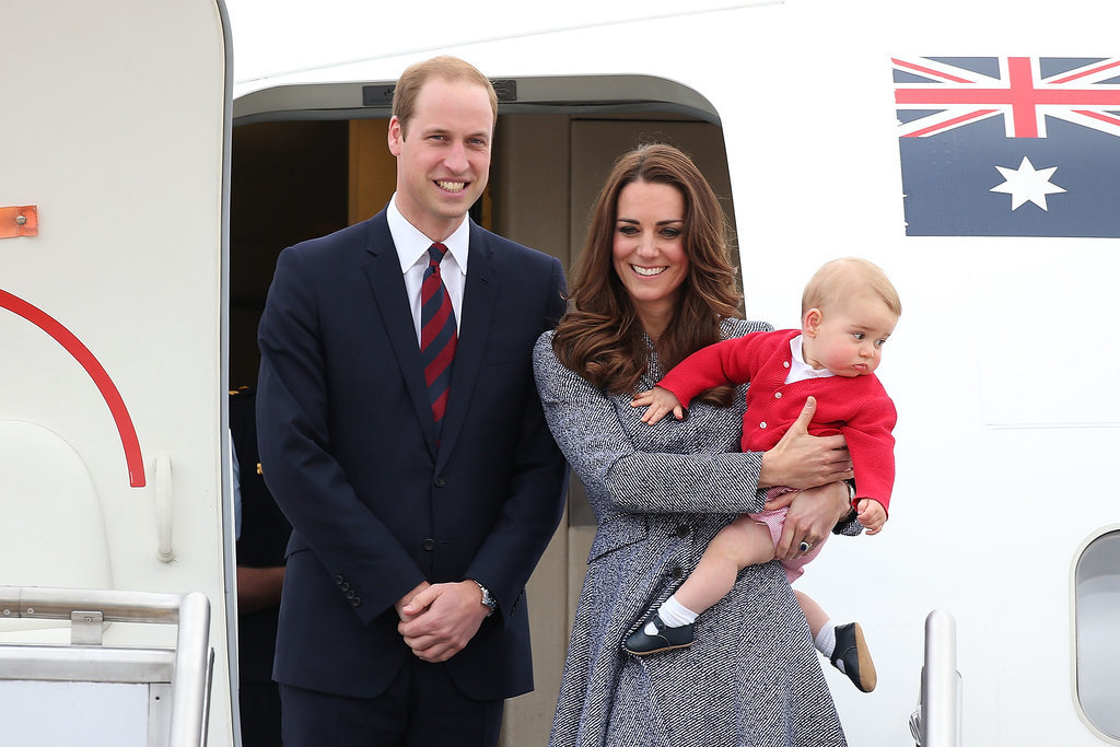 Prince George Doesn't Want to Go!