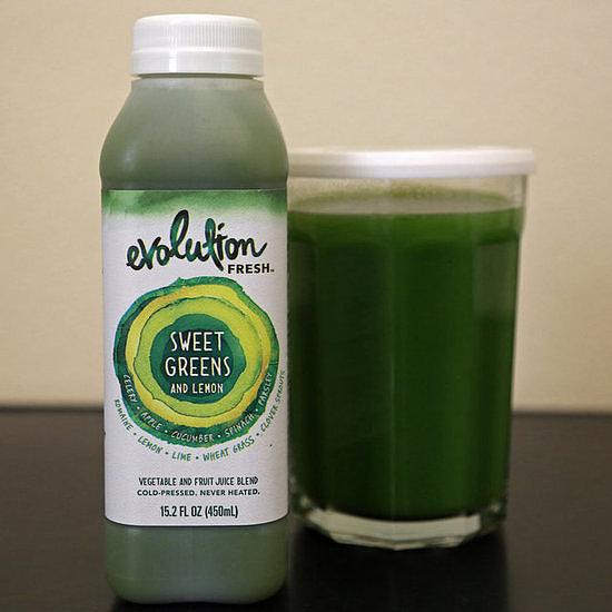 Celery, Apple, and Greens Juice