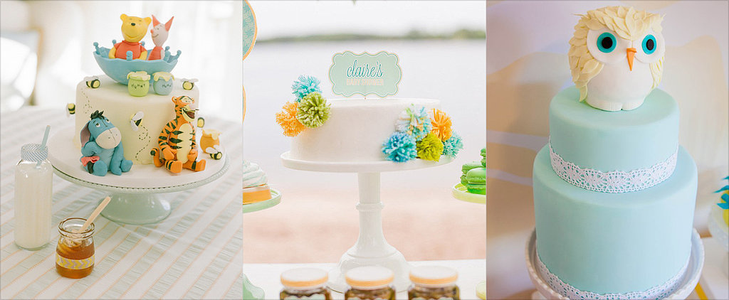 Baby Cakes! Inspiration For a Classic Baby Shower Cake