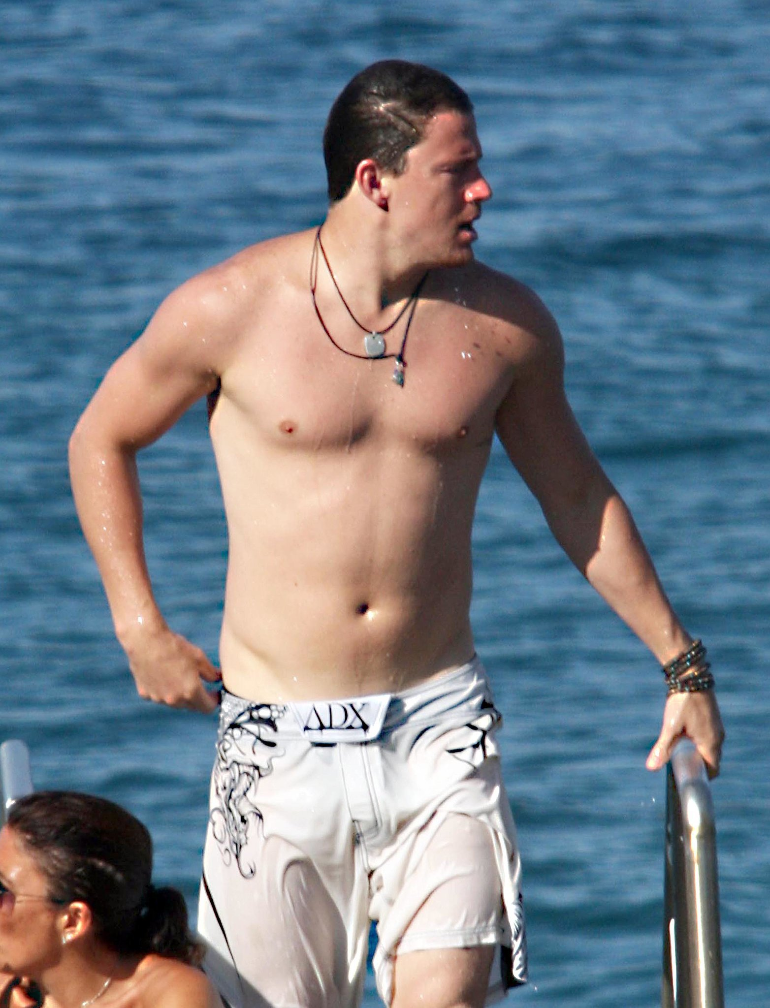 Channing left little to the imagination during his honeymoon in Italy in July 2010.
