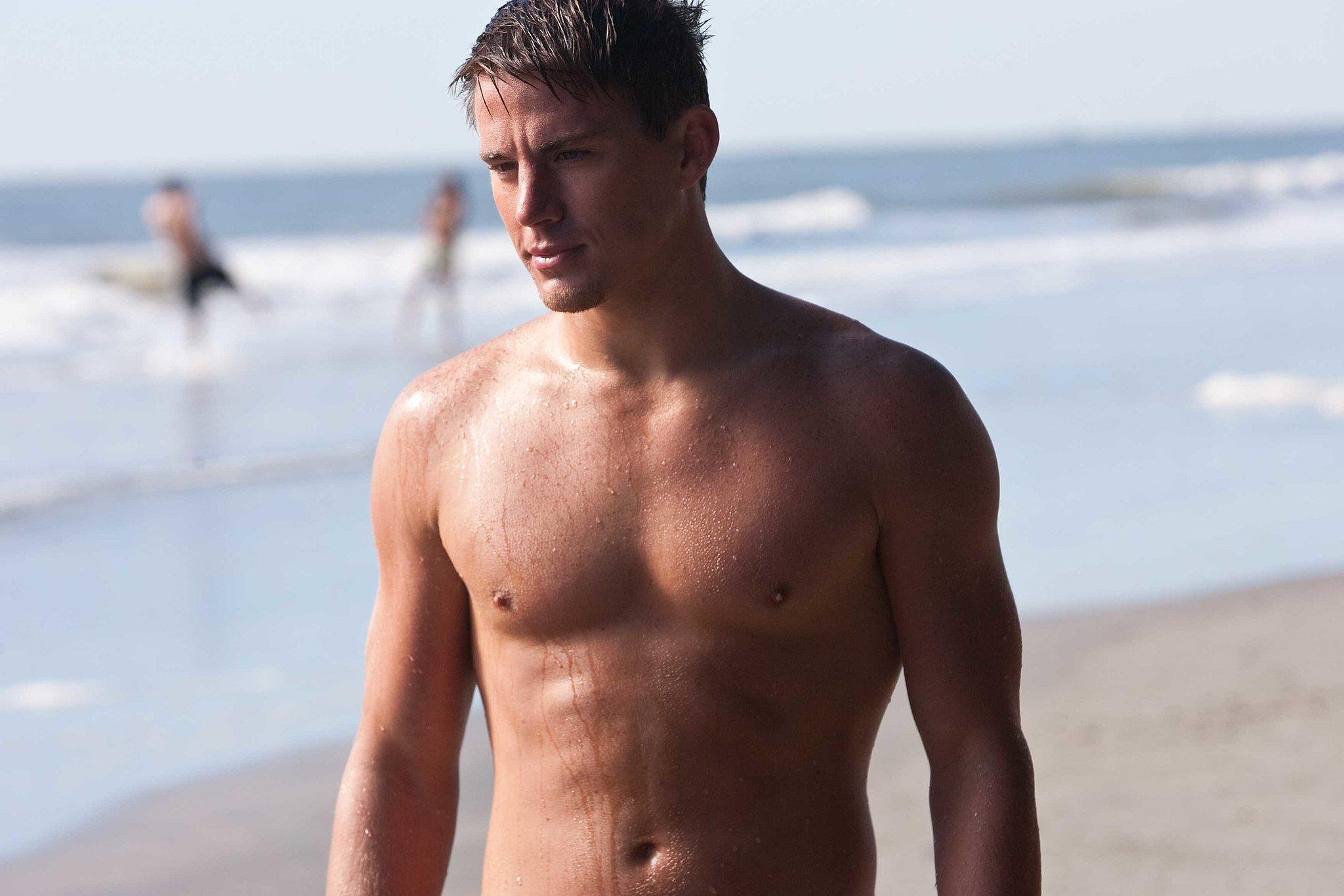 Channing went shirtless in Dear John.