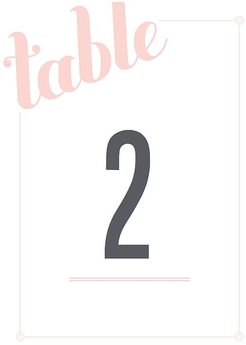 Love and Marriage Table Numbers