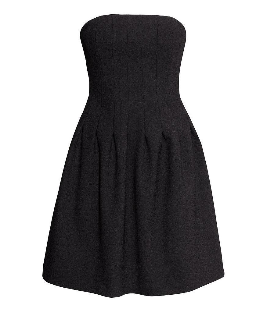 Robe Bustier Noire H&m | Vous