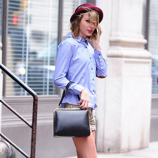 Taylor Swift Wearing Knee Socks