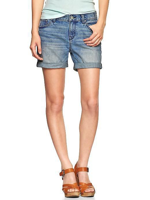 Gap 1969 Sexy Boyfriend Denim Shorts