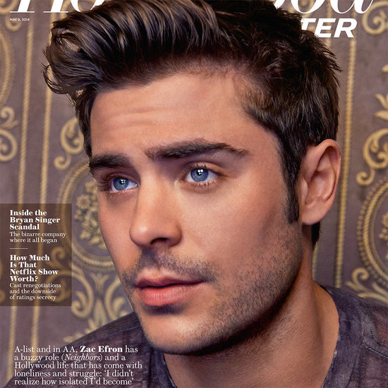 Zac Efron Interview in The Hollywood Reporter