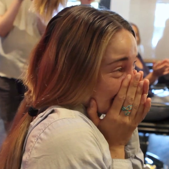 Video of Shailene Woodley Getting Her Long Hair Cut Short