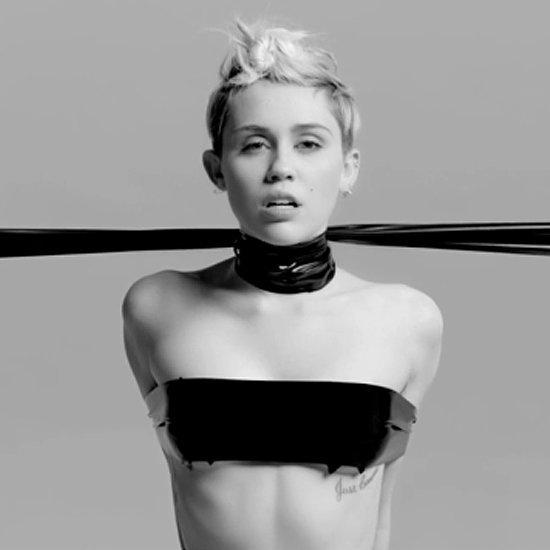 Miley Cyrus's Topless Bangerz Tour Video