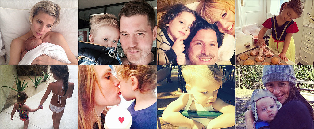 Soleil, Rachel, Ivanka, and More Celeb Moms Shared Some Sweet Snaps of Their Tots This Week!