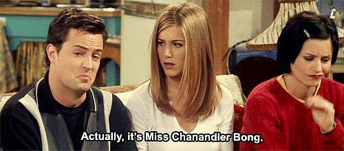 When Chandler Reveals His TV Guide Alter Ego