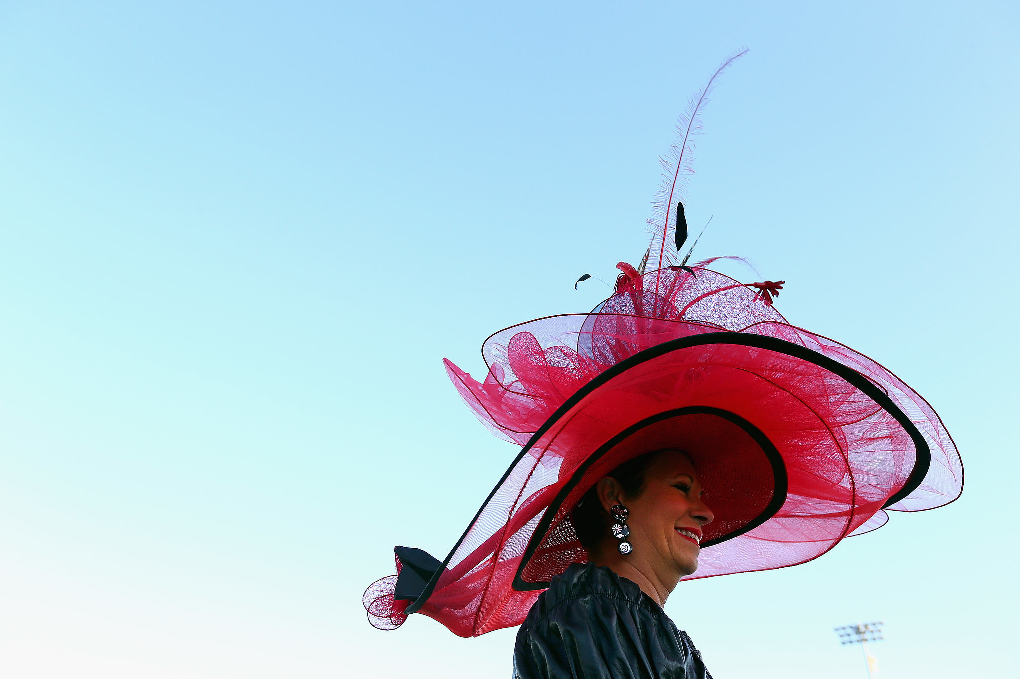 It was a go big or go home hat for this woman in 2014.