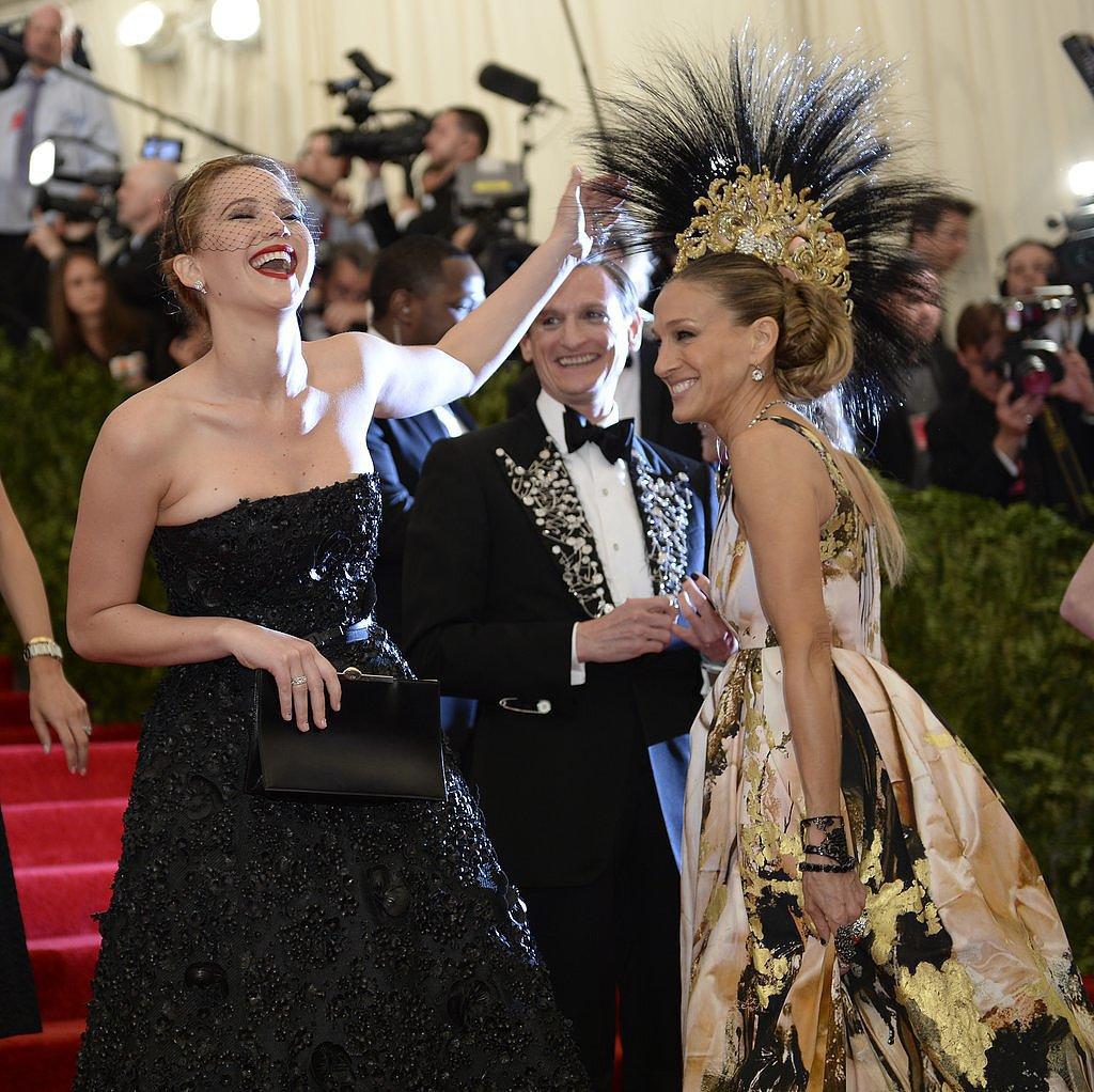 Jennifer Lawrence and Sarah Jessica Parker — 2013