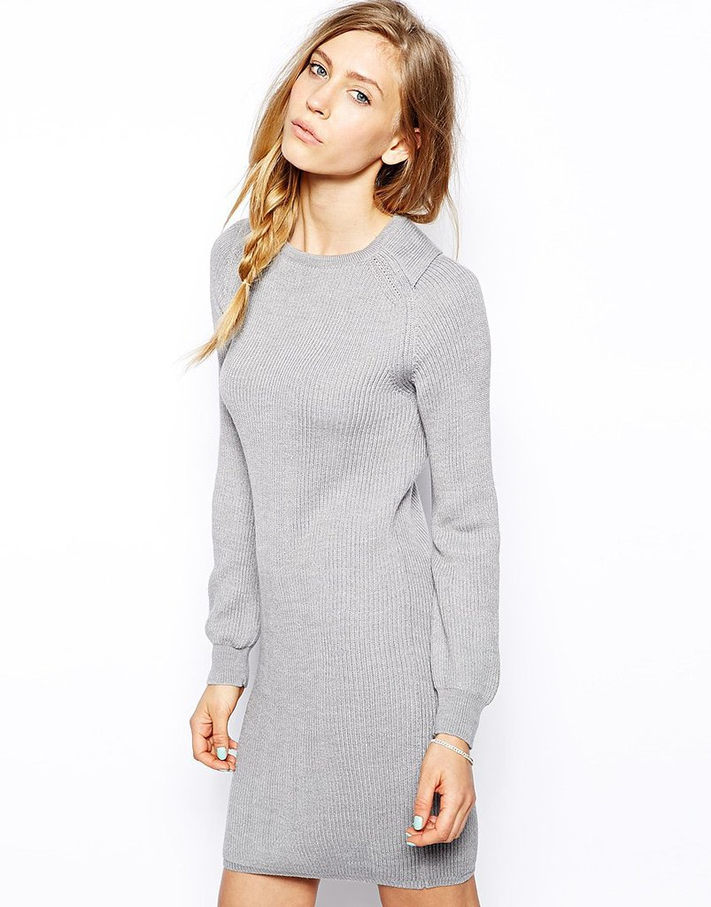 Tie Sweater Dress