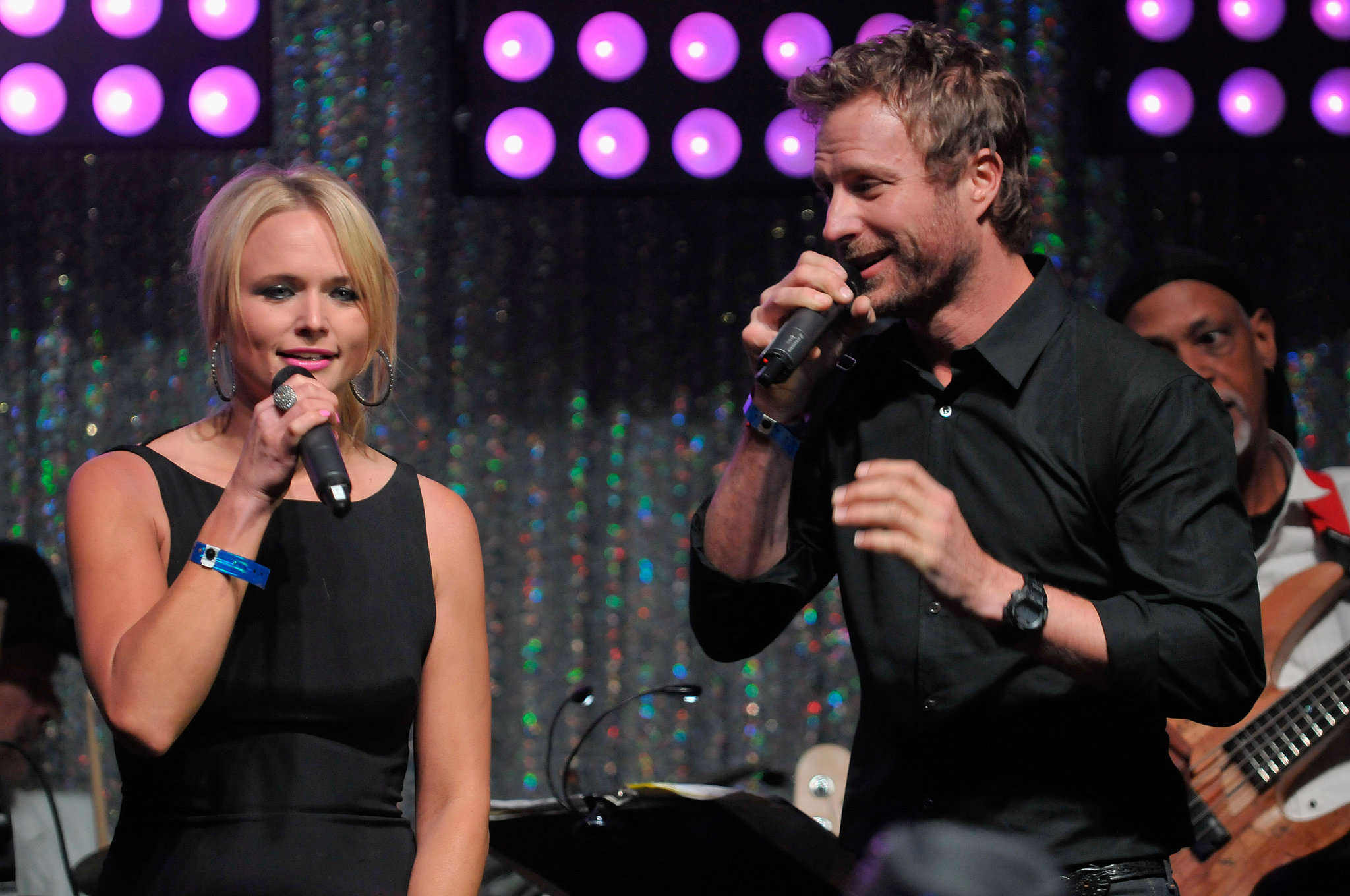 Miranda Lambert took the stage with Dierks Bentley at the Barnstable Brown event on Friday.