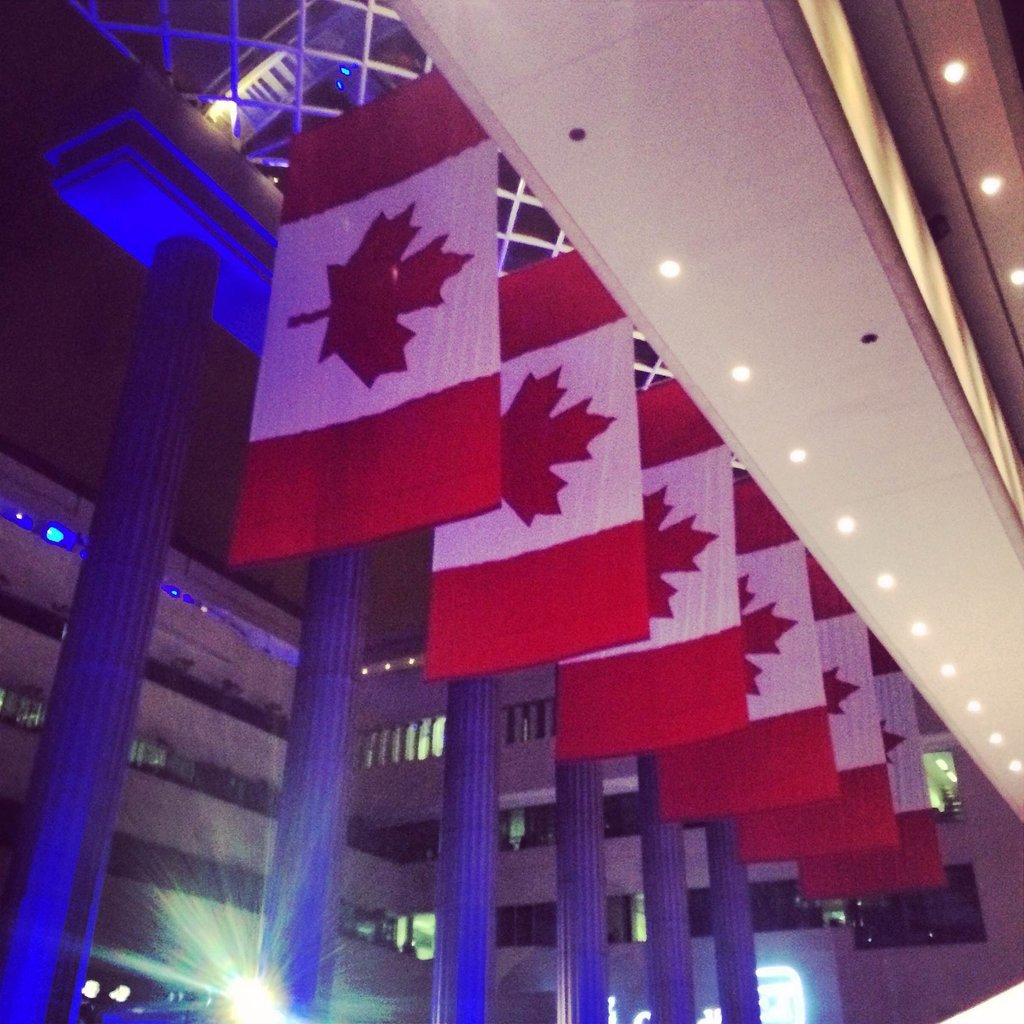 The Hill newspaper held a Friday bash at the Canadian Embassy.