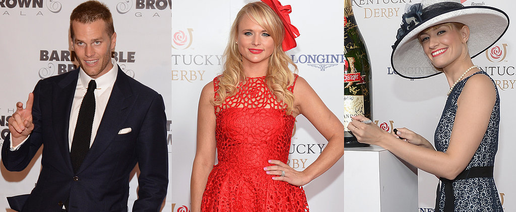 Celebrities Party in the South at the Kentucky Derby
