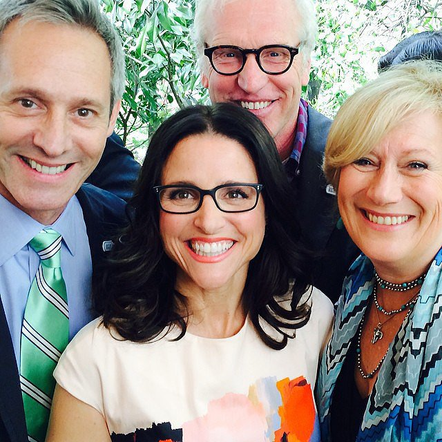 Julia Louis Dreyfus Husband: Julia Made Friends With Actors From House Of Cards
