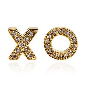 Jennifer Meyer XO Stud Earrings, Moda Operandi
