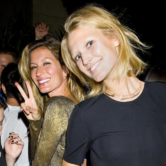 Gisele Bundchen and Toni Garrn Partying in NYC