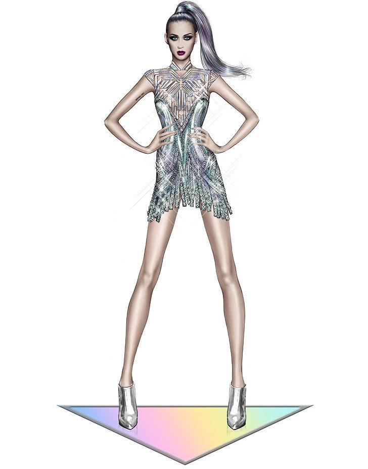 Katy Perry in Roberto Cavalli