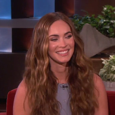 Megan Fox Shows Picture of Baby Bodhi on The Ellen Show