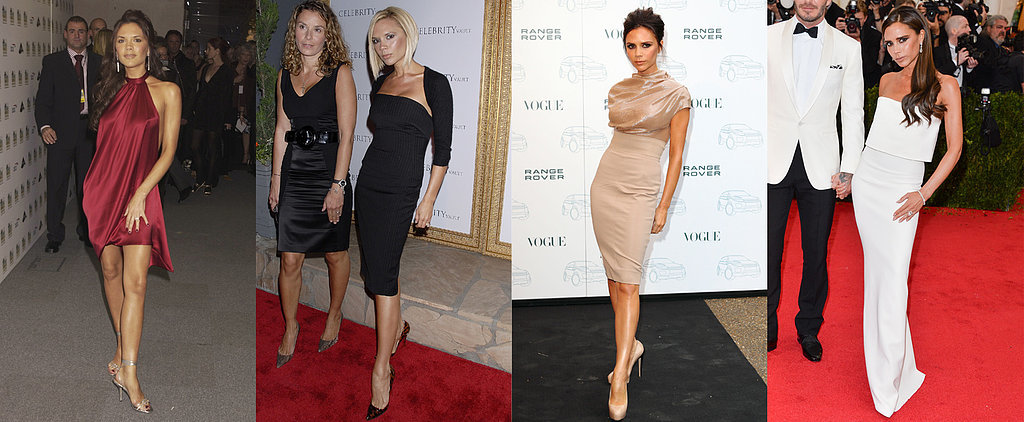Victoria Beckham Has Her Red Carpet Pose, and She's Sticking to It