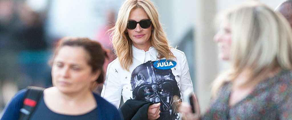 Julia Roberts (and Darth Vader) Look Amazing